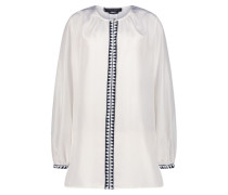 Patterned full sleeves blouse