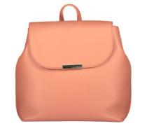 Flossy peach backpack