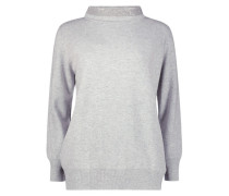 Mock turtleneck cozy jumper