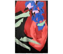 Artsy floral scarf