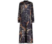 Abstract print Oberteil dress
