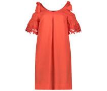 Lace love cold-shoulder dress