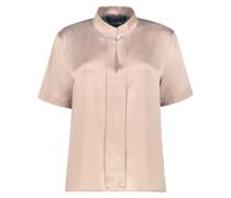 Powder satin blouse