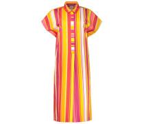 Bright stripes a-line dress