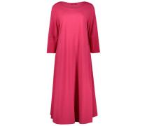 Electric pink midi dress