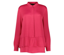 Vibrant peplum blouse