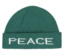 Surreal peace & love beanie