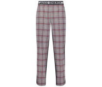 Casual plaid trousers