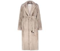 Cosy Fur Overcoat