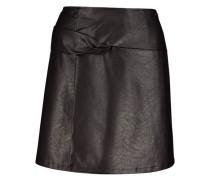 Overlapping Mini Skirt