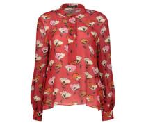 Romantic floral blouse