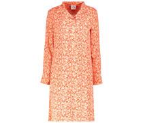 Retro print Oberteil dress