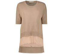 Modish neutral blouse