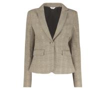 Checkered frill jacket