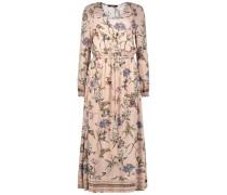 Longline floral dress