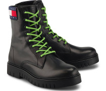 NEON DETAIL LACE UP BOOT