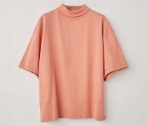 T-Shirt mit Stehkragen