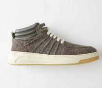 Bartos Hairy M Grau/Weiß Mittelhohe Sneakers