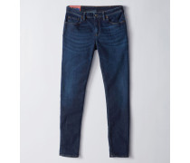 Climb Dark Blue3 Jeans in Stretch-Passform