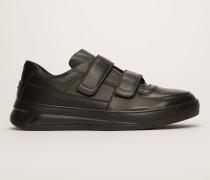Perey Schwarz/Schwarz Sneakers mit Klettverschluss