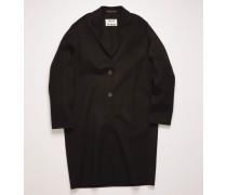 Figurnaher, langer Mantel