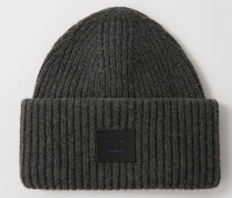 Pansy N Face Rippstrick-Beanie