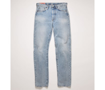 1996 Light Blue Trash Jeans in klassischer Passform