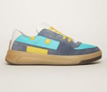 Perey Lace Up Em Blau/Türkis/Beige Sneakers zum Schnüren
