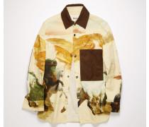 Jacke mit Pferde-Print