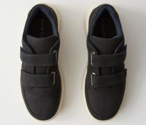 Steffey Nubuk Sneakers mit Klettverschluss