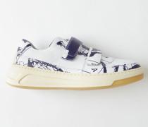 Perey Map Weiß/Blau Sneakers mit Klettverschluss