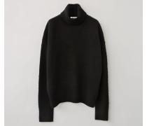 Nyran Oversized Pullover mit Rollkragen