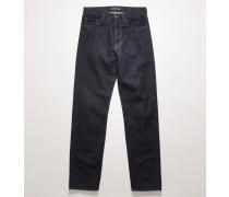 FA-UX-5PKT000005 Jeans mit Face-Aufnäher