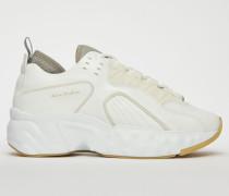 Manhattan Nappa Weiß/Weiß Technische Sneakers