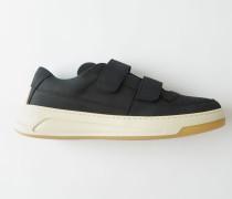 Perey Nubuk Sneakers mit Klettverschluss