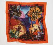 Schal mit Monster-Print
