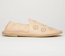 Loafer aus perforiertem Leder