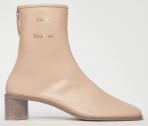 Ankle Boots mit Logo