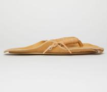 Flipflop-Sandalen aus Leder