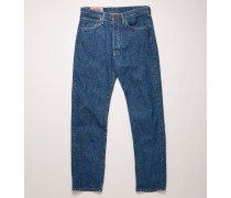 2003 Dark Blue Trash Jeans mit lockerer Passform