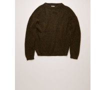 Dramatic Moh Oversized Pullover