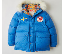 Expedition Print M A/F Daunen-Wendejacke