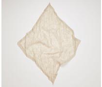 Bandana aus Baumwollmix mit Knittereffekt