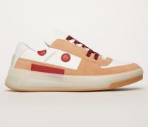 Steffey Lace Up Embr Rosa/Weiß/Eis Sneakers zum Schnüren