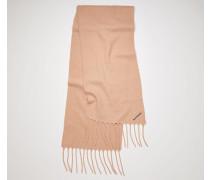 Gefilzter Schal aus Woll-Mix