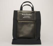 Schwarz/Schwarz Einkaufstasche