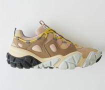 Bolzter M Braun/Grau Technische Sneakers