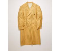 Zweireihiger Mantel mit Nadelstreifen