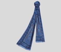 Schal aus Seide und Kaschmir mit Paisley-Motiven