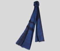 Schal mit Karo- und Paisleymuster